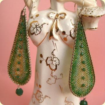 pierrot earrings