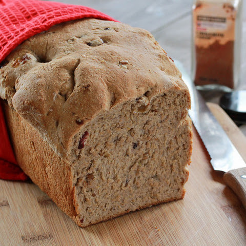 Cinnamon Raisin (or Cranberry) Oatmeal Bread