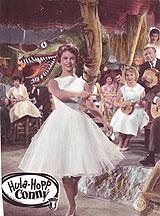 "Photograph/ movie poster ""Hula Hopp, Conny"" Starring: Conny Froboess, Rex Gildo b/w, handcolored"