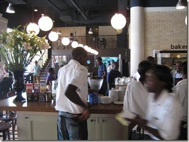 barista counter at artcaffe