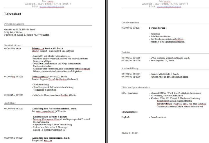 Software-Tester Bewerbung für Berufswechsel :: Bewerbungsforum