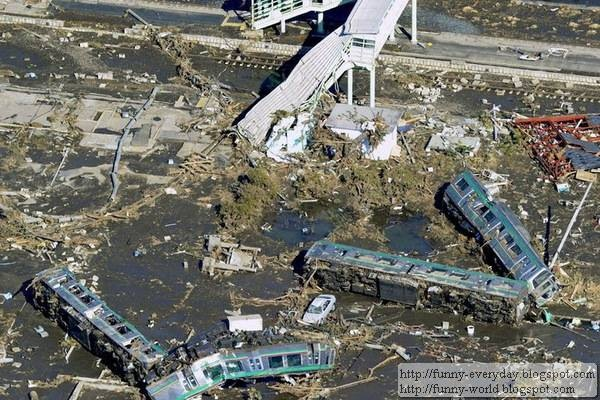 日本地震海嘯後空拍圖 (15)
