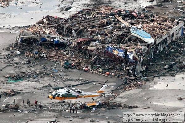 日本地震海嘯後空拍圖 (12)