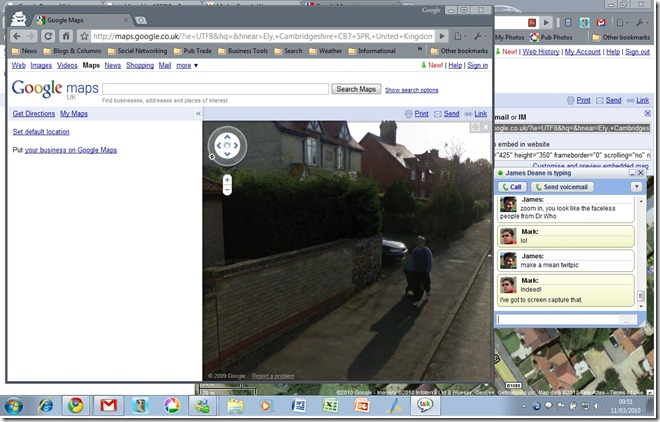 Me on Streetview!