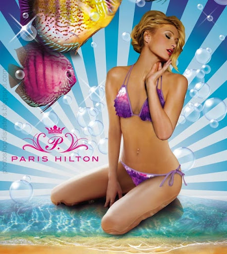 Paris Hilton PSD