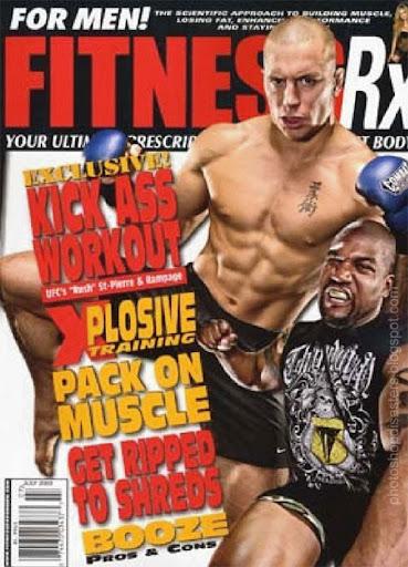 FitnessRx PSD