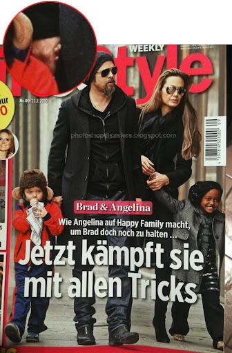 Brad Pitt and Angila Joli PSD