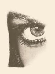 ojo a lapiz cópia