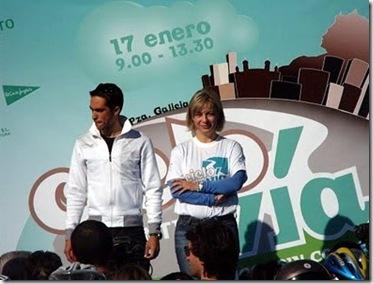 Alberto Contador y Sonia Castedo
