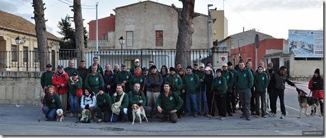 foto de grupo Aigues a Torremanzanas 2010