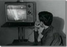 TV en blanco y negro julio 1969