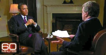 奥巴马受访谈击毙拉登:说他不该死的要查脑子