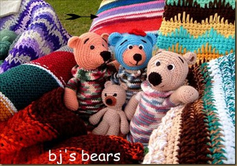 bj crochet bears