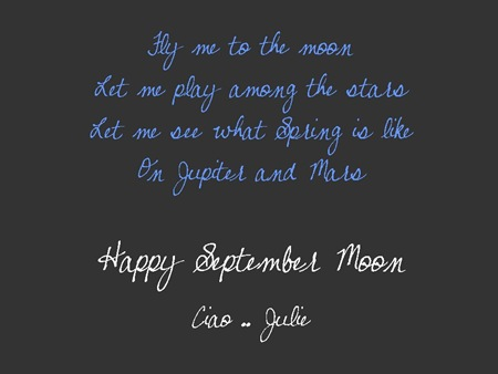 Happy September Moon