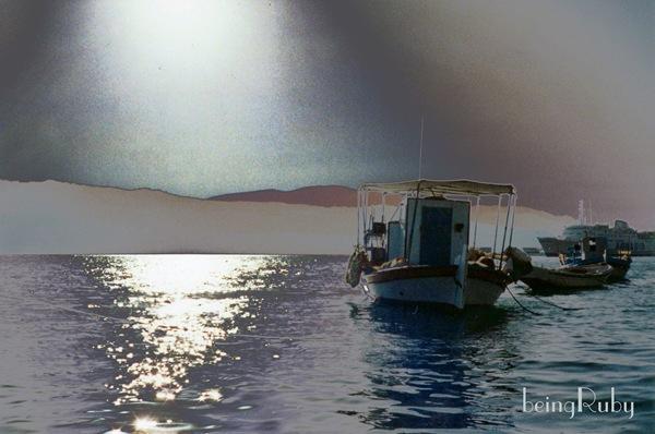 BeingRuby - Samos Boat 1sg