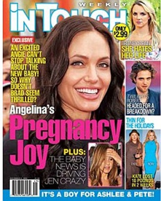 Angelina Jolie Pregnant With Fourth Biological Child picture