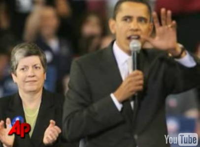 Arizona Governor Janet Napolitano possible President-elect Barack Obama Homeland Security Secretary
