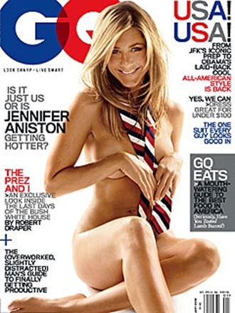 Jennifer Aniston 2009 January GQ Magazine Cover Photo & Interview