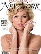 Kate Moss New York magazine cover photo