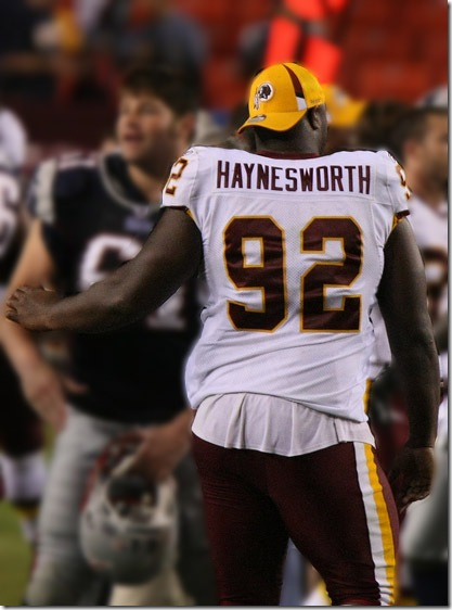 Washington Redskins Albert Haynesworth