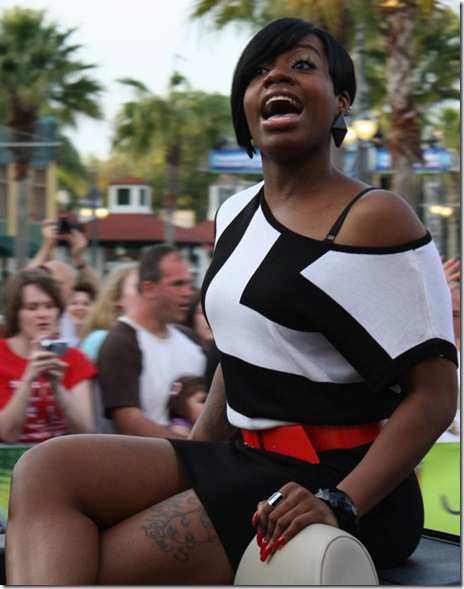 American Idol 3 winner Fantasia Barrino Picture