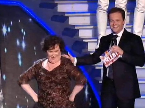 Susan Boyle May 24 Semi Final Pic