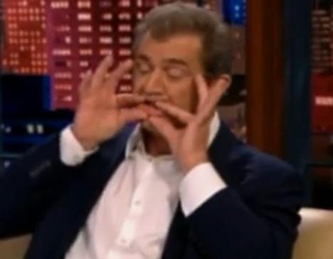 Mel Gibson Octo-Mel Jay Leno Show Joke