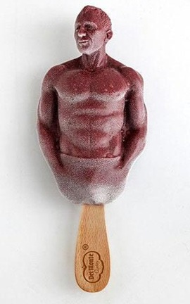Daniel Craig shaped ice lolly photo