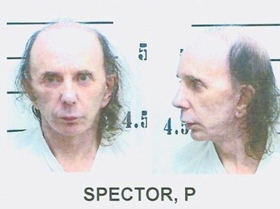 Phil Spector Bald Mugshot Photo