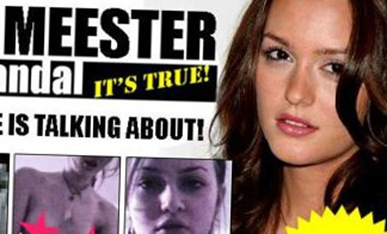 Leighton Meester Tape Scandal screen shots picture