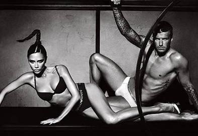 Victoria and David Beckham New Emporio Armani Underwear Campaign picture