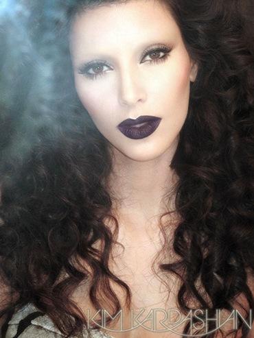 kim kardashian Twilight Vampire Picture