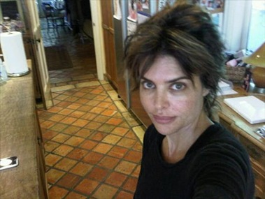 Lisa Rinna Without Makeup Picture