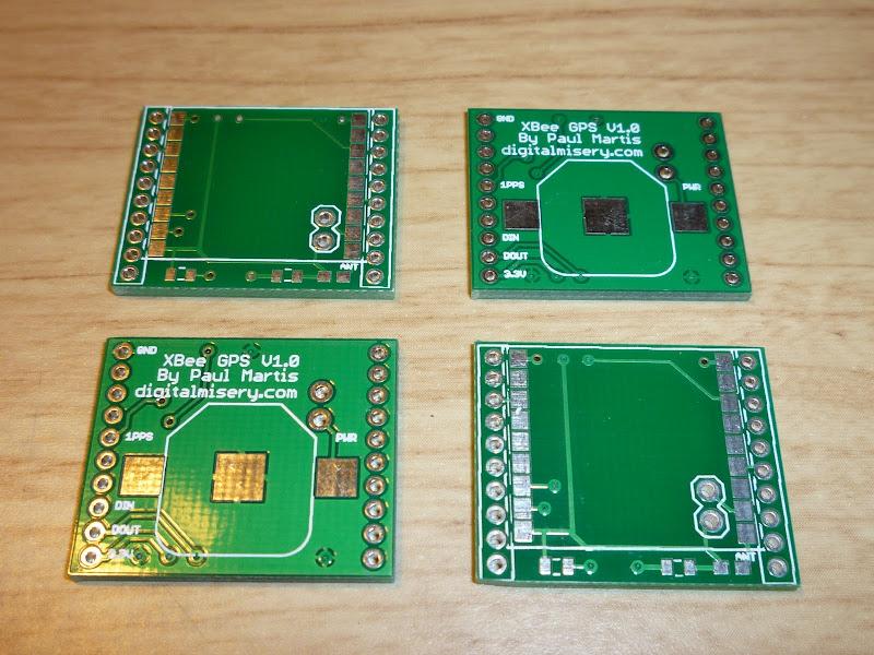 XBee GPS Module PCBs