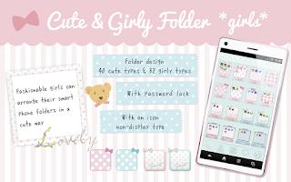 Screenshot of Cute & Girly folder *girls*