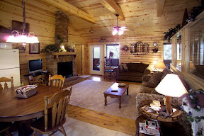 Branson woods resort cabins four bedroom in missouri for Devils elbow fishing resort
