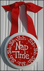 RED shh nap time