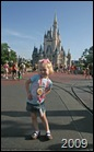 DISNEY Riley at castle