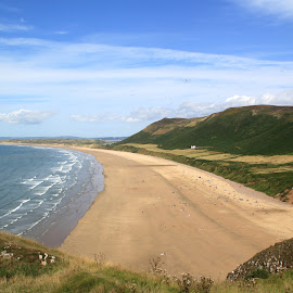Rhosilli, Gower by John Davies - Landscapes Beaches ( gower, swansea, beautiful beaches, rhosilli beach, gower peninsula, rhosilli )