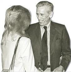 Ο Τζερόμ Ντ. Σάλιντζερ - εδώ  σε μια σπάνια εμφάνισή του