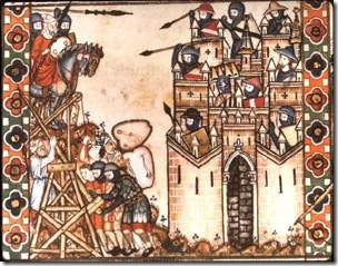 Η κατάληψη της Κωνσταντινούπολης - φράγκικη μικρογραφία εποχής