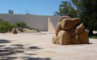 California Scenario In Costa Mesa A Sculpture Garden