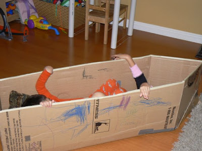 Cardboard Magic A Boat Thats Not And Plane To Make