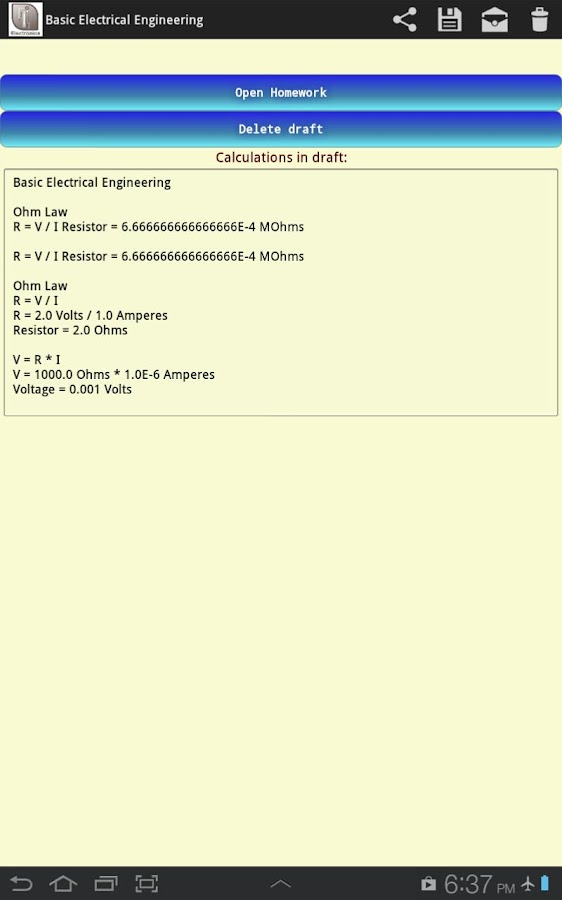 Electrical Engineering Premium Screenshot 11