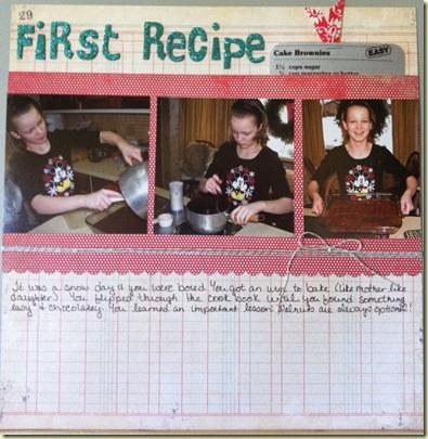 First recipe