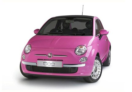 "Fiat has created ""glamour"" version FIAT 500"