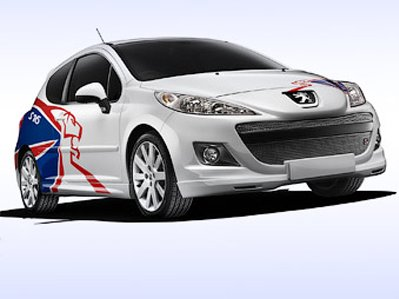 Hatchback Peugeot 207 for the champion