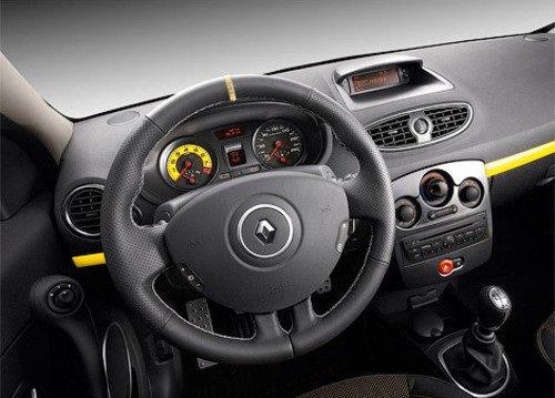 Interior hatchback Renault Twingo