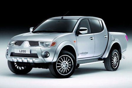 Sports version of pickup Mitsubishi L200
