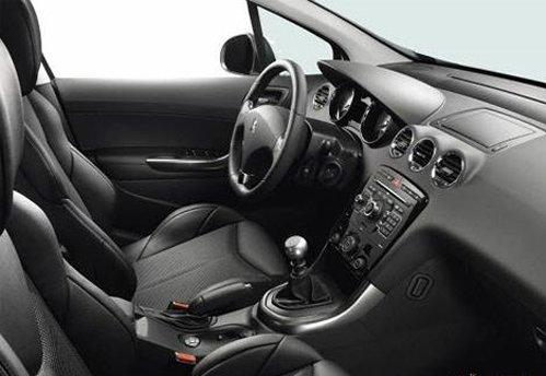 Interior of Peugeot